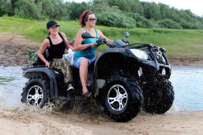 ATV in Alaska