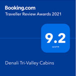 Booking.com review awards 2021