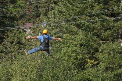 Ziplining in Alaska
